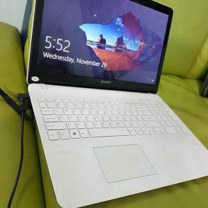 bán laptop cũ sony vaio svF15 tại gò vấp