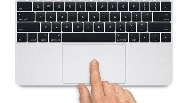 kiểm tra chuột cảm ứng laptop cũ