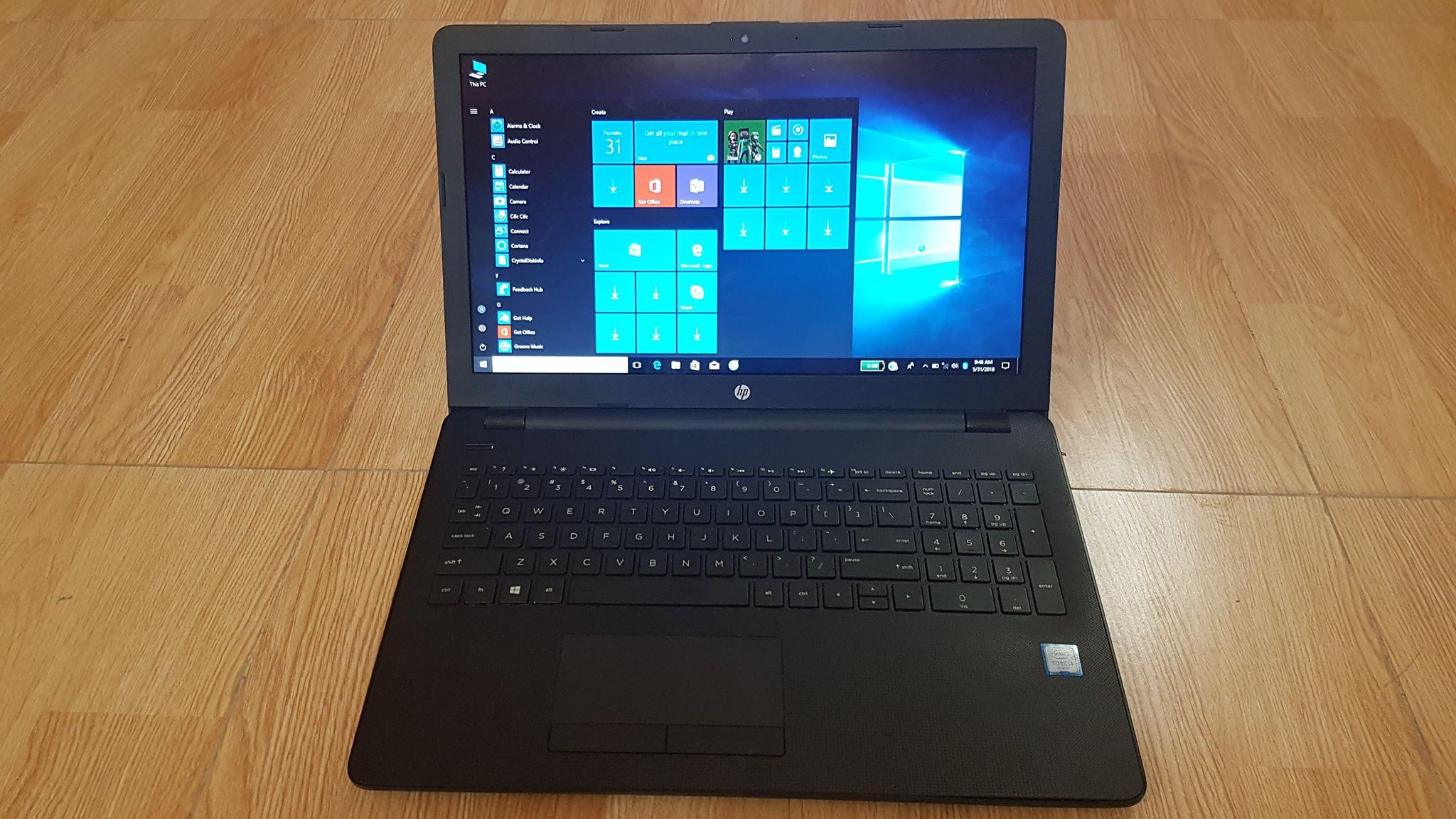 mua bán Laptop cũ HP Notebook 15 BS571TU giá sinh viên